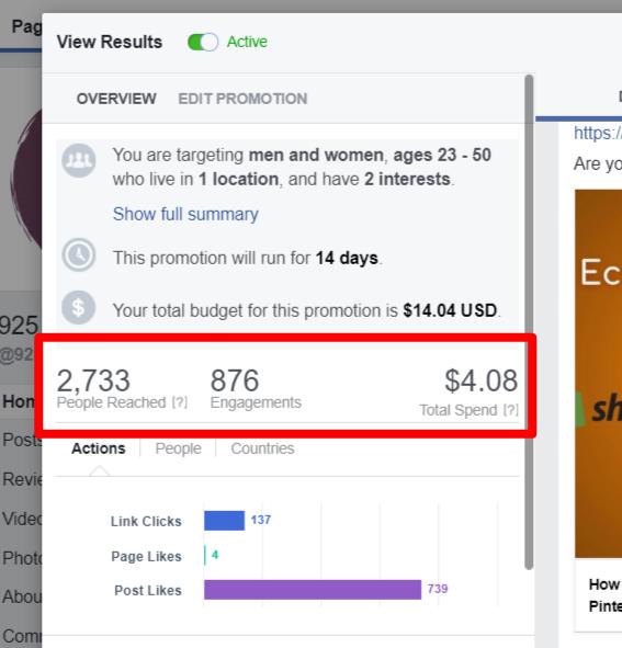 facebook ads promotion