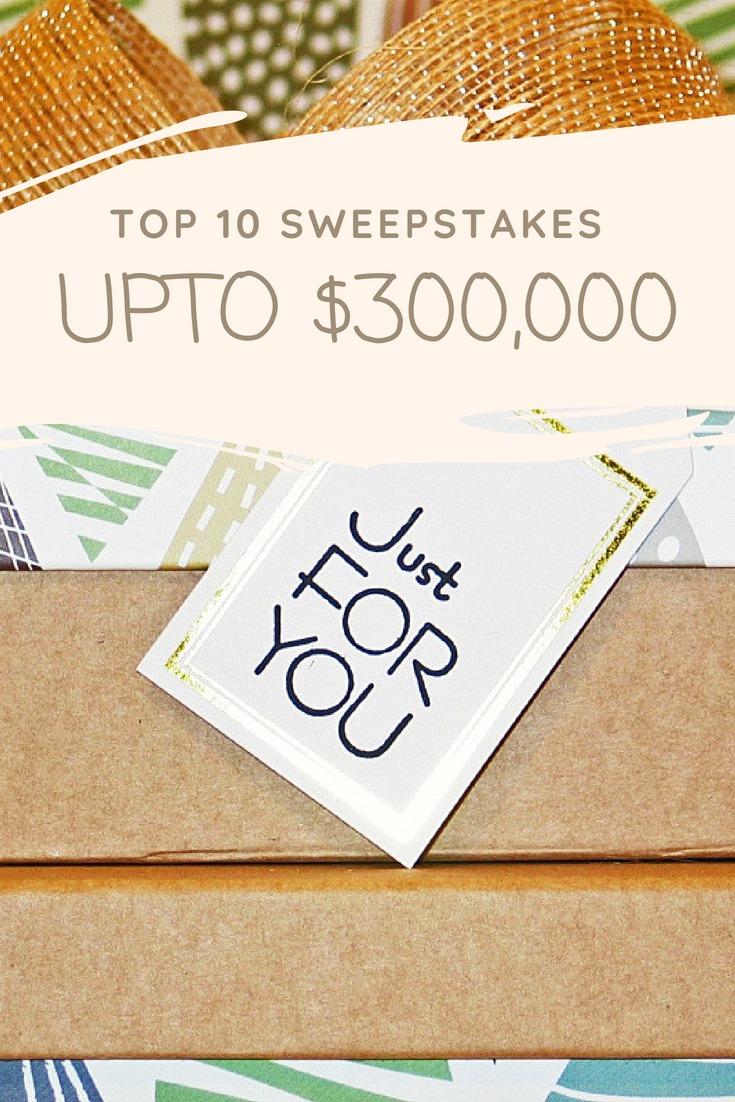 top 10 sweepstakes to enter in 2018 that are legitimate