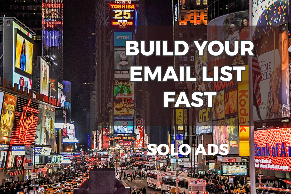 solo ads udimi for email list building