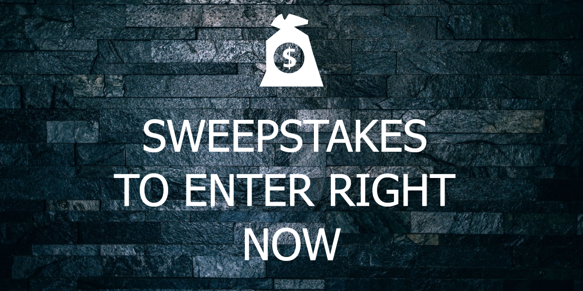 sweepstakes to enter in 2018